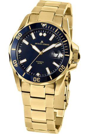 Jacques Lemans Reloj analógico 1-2089I, Automatic, 42mm, 20ATM para hombre