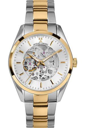 Jacques Lemans Reloj analógico 1-2087I, Automatic, 40mm, 5ATM para hombre
