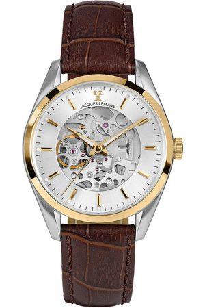 Jacques Lemans Reloj analógico 1-2087D, Automatic, 40mm, 5ATM para hombre