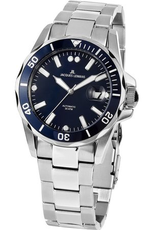 Jacques Lemans Reloj analógico 1-2089G, Automatic, 42mm, 20ATM para hombre