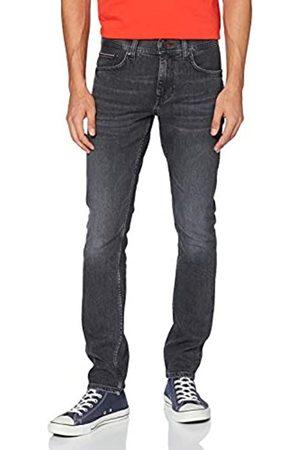 Tommy Hilfiger Hombre Pantalones slim y skinny - Hombre Extra Slim Layton Str Agar Black Pantalones