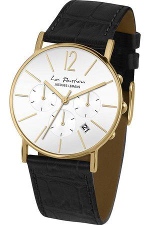 Jacques Lemans Reloj analógico LP-123O, Quartz, 40mm, 5ATM para hombre