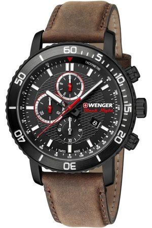 Wenger Reloj analógico 01.1843.107, Quartz, 45mm, 10ATM para hombre