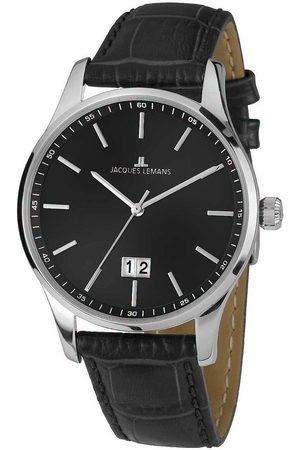 Jacques Lemans Reloj analógico 1-1862A, Quartz, 40mm, 10ATM para hombre