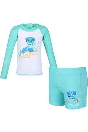 Regatta Mujer Estampados - Conjunto Valo de pantalón Corto y Camiseta Protectora de baño con diseño Estampado