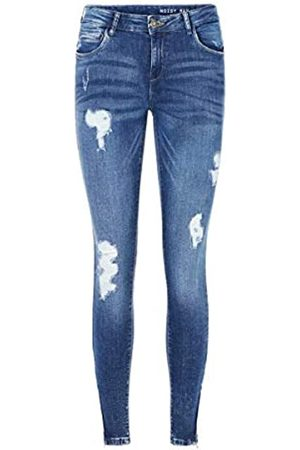NAME IT Mujer Cintura alta - Nmkimmy NW Ankle Zip Jeans Az003mb Noos Vaqueros Skinny