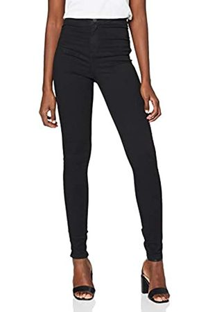 NAME IT Mujer Cintura alta - Nmella Super HW Jeans Gu304 Noos Vaqueros Slim