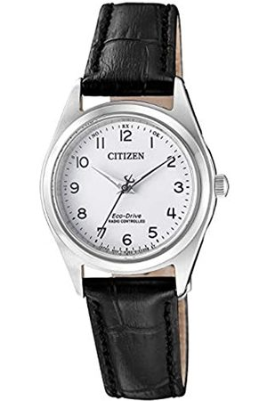 Citizen RelojAnalogicoparaMujerdeEnergíaSolarconCorreaenCueroES4030-17A