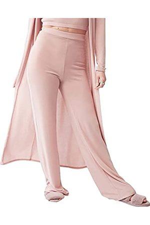 OHS Jersey Flares, Blush-SML Pantalones de Yoga