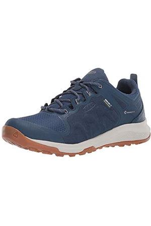 Keen Explore Waterproof, Zapatos para Senderismo Mujer, Majolica Blue/Satellite