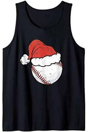 Merch Jungle Bola de béisbol de Navidad Sombrero divertido Deporte Navidad Camiseta sin Mangas