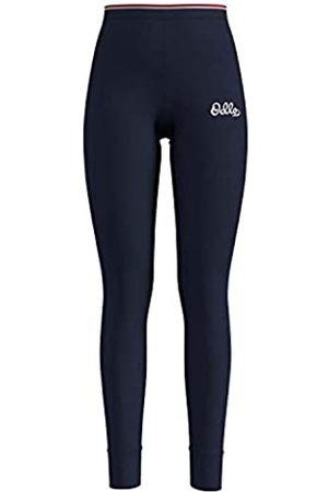 Odlo Bl Bottom Long Active Warm Originals-Diving Navy Ropa Interior para Mujer