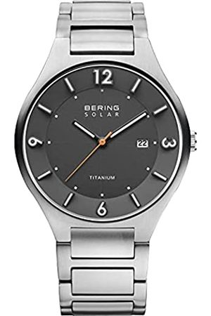 Bering RelojAnalógicoSolar/TitaniumCollectionparaHombredeCuarzoconCorreaenTitanio&CristaldeZafiro14440-777