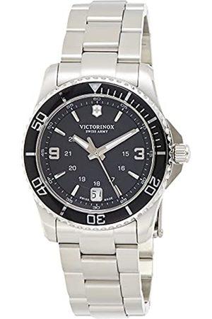 Victorinox Reloj de Cuarzo Suizo para Mujer con Acero Inoxidable de Cuarzo analógico Maverick 241701