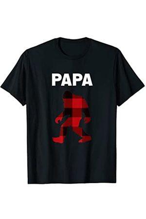 Regalos de pijamas familiares a juego de Navidad Pijama de cuadros rojos a juego de Navidad de la familia Camiseta