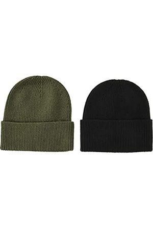 Amazon Essentials 2-Pack Knit Hat Skull-Caps