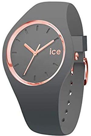 Ice-Watch ICE Glam Colour Grey - Reloj para Mujer con Correa de Silicona