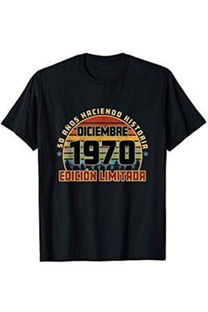 Cumpleaños Diciembre 1970 50 Años Camiseta Haciendo Historia Camiseta