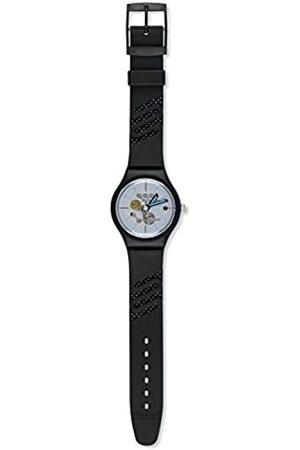 Swatch Reloj Cronógrafo para Mujer de Cuarzo con Correa en Cuero YCS582
