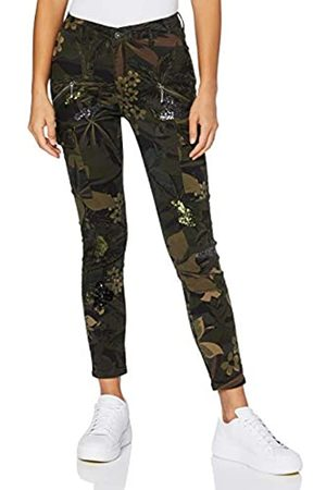 Desigual Pant_Camo Cargo Pantalones Informales