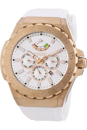 Carucci Watches Hombre Relojes - CA2204RG-WH - Reloj de Pulsera Hombre
