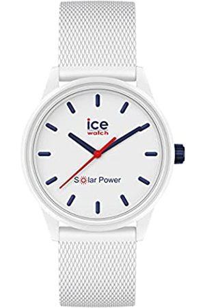 Ice-Watch Ice Solar Power Sailor Mesh Reloj con Correa de Silicona para Mujer, Small