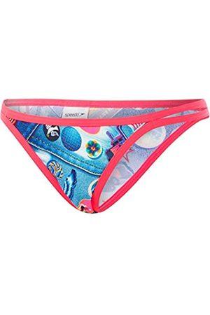 Speedo Retro Pop String Brief AF Parte Inferior Bikini, Mujer