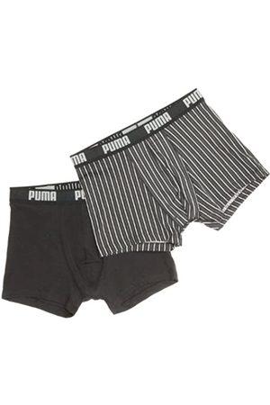 PUMA Pin Stripe-Calzoncillos para Hombre 2 Pares Multicolor Talla:Medium