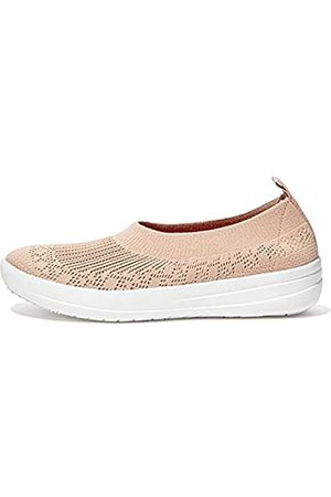 FitFlop Uberknit Ballerina, Zapatos Tipo Ballet Mujer