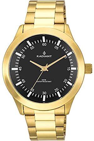 Radiant Reloj analógico para Hombre de . Colección Paela. Reloj con Brazalete y con Esfera en Negro. 5ATM. 48mm. Referencia RA478202.