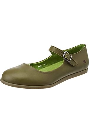 Art 1490, Zapatos Planos Mary Jane Mujer, Kaki