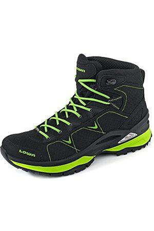 Lowa Outdoor Schuhe Ferrox GTX Mid All Terrain Schwarz-Limone (310615-9903) 41