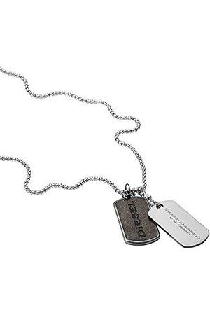 Diesel Collares de los hombres acero inoxidable Sin piedras preciosas 0 - DX1257040