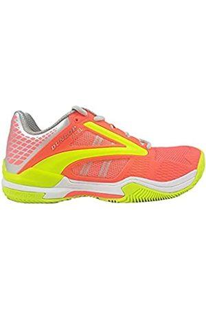 Dunlop D PFW Extreme Padel Womens Size UK6 /EU39, Tennis Shoe Mujer, Coral-Fluor