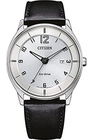 Citizen Reloj Analógico para Hombre de con Correa en Cuero BM7400-21A
