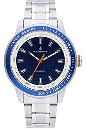 Radiant Reloj analógico para Hombre de . Colección Dax. Reloj con Brazalete y con Esfera Azul. 5ATM. 47mm. Referencia RA494201.