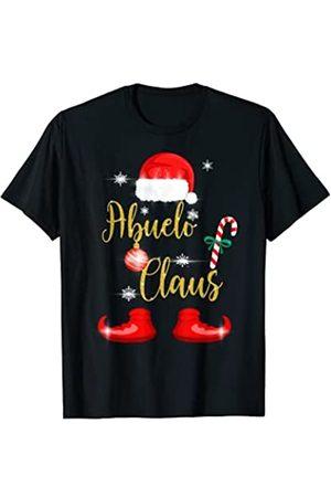 Regalos Originales de Navidad para Familias Co. Hombre Abuelo Claus Pijama Familia Divertido Regalo Navidad Abuelos Camiseta