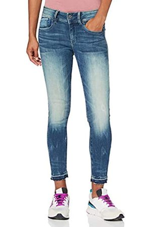 G-Star Lynn Mid Waist Skinny Jeans, árbol Antic desvanecido C296-B817
