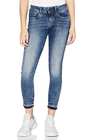 G-Star Lynn Mid Waist Ripped Ankle Skinny Jeans