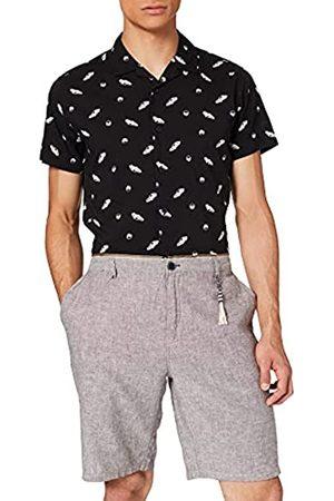 Springfield Bermuda Lino Casual Texturas Pantalones Cortos