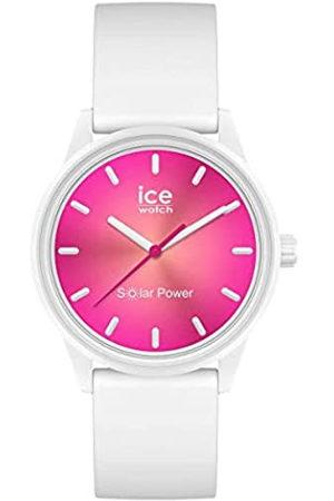 Ice-Watch ICE Solar Power Coral Reef - Reloj para Mujer con Correa de Silicona