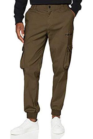 Calvin Klein Cargo Slim Mixed Med Cuffed Pantalones