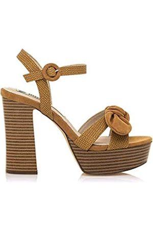 Mustang Sandalias Mujer | Sandalias Amazonas 50504 | Mujer | Sandalias Zapato de tacón | Cierre con Hebilla | 49213 | | 39