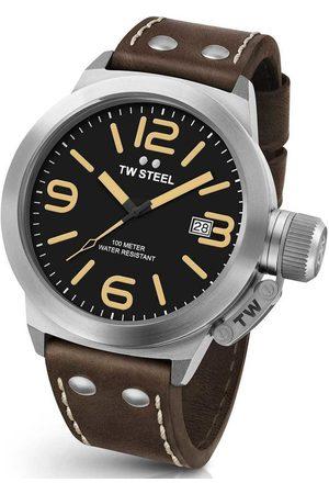 TW steel Reloj analógico CS31, Quartz, 45mm, 10ATM para hombre