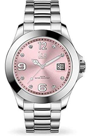 Ice-Watch Ice Steel Light Pink With Stones - Reloj para Mujer con Correa de Metal