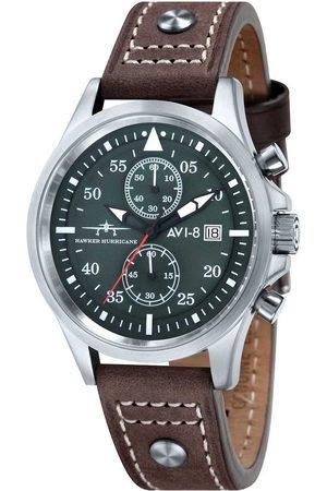 Avi-8 Reloj analógico AV-4013-SETA-01, Quartz, 45mm, 5ATM para hombre