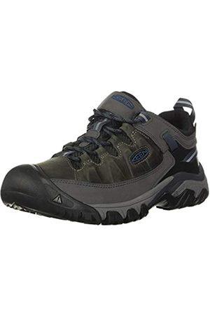 Keen Targhee III WP-M, Zapatos para Senderismo Hombre, Steel Grey/Captains Blue