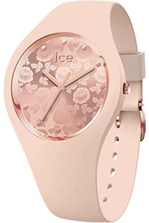 Ice-Watch ICE glam brushed Almond skin - Reloj Beige para Mujer con Correa de Silicona, 019528