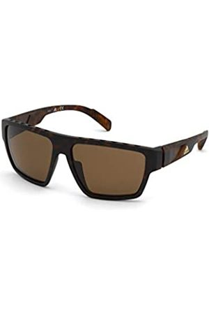 adidas SP0008 Gafas, dark havana/brown polarized