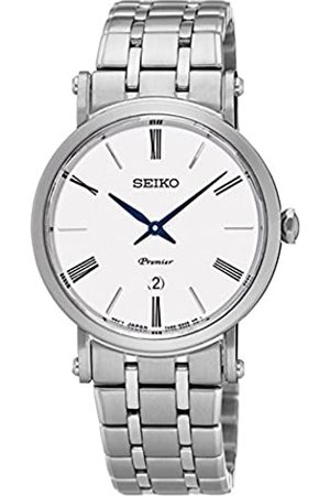 Seiko Reloj Analógico para Mujer de Cuarzo con Correa en Acero Inoxidable SXB429P1